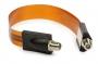 Flat Koaksial Kabel Overgang